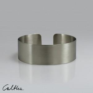 Satyna - metalowa bransoletka średnia 190209-01