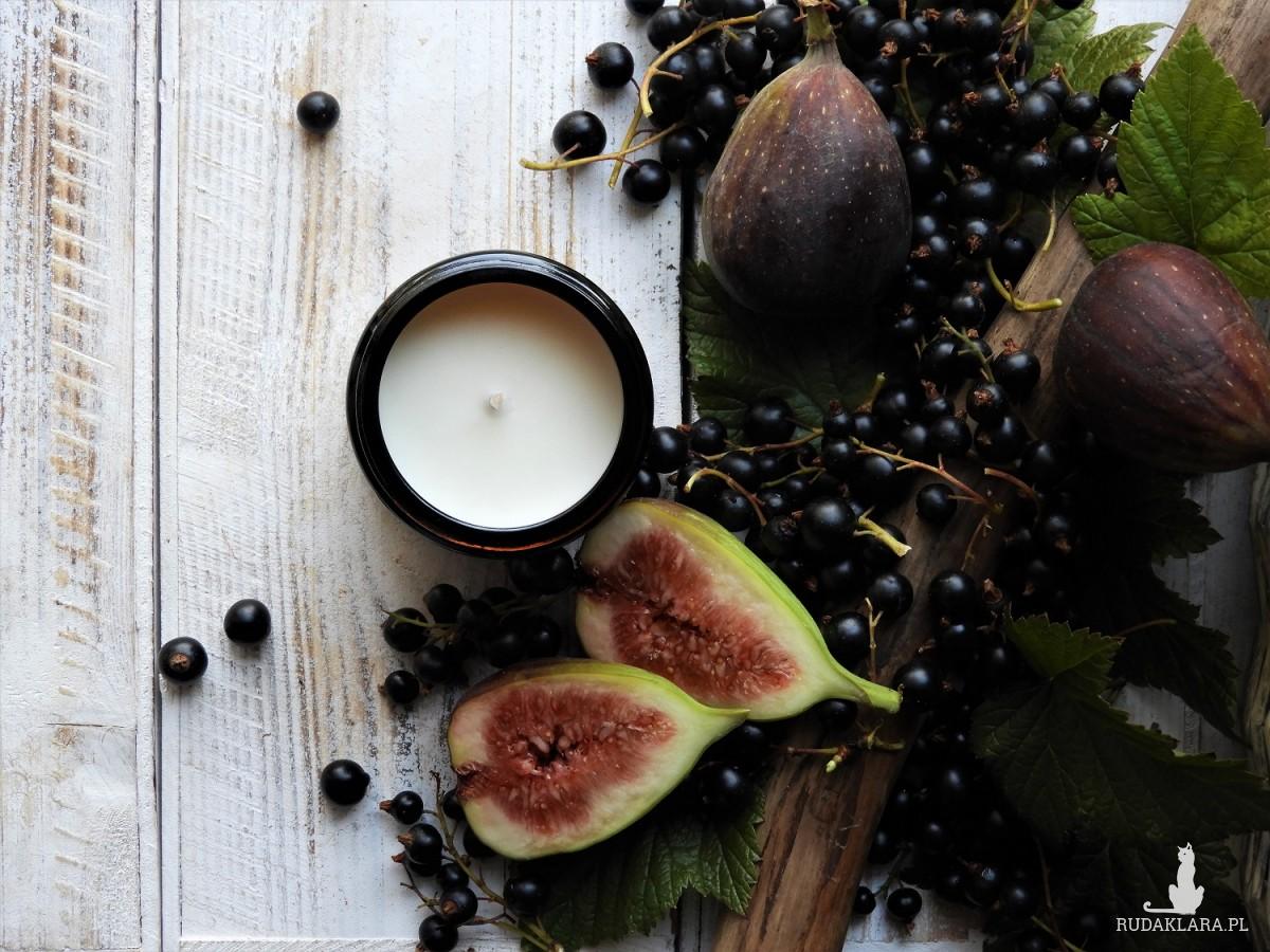 Zapachowa świeca sojowa Figa w Porzeczkach