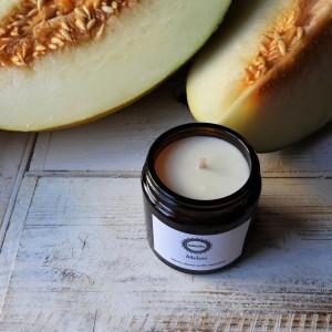 Zapachowa świeca sojowa Melon