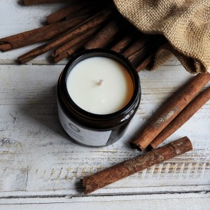 Naturalna świeca sojowa Cynamon