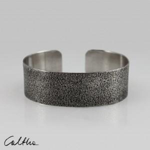 Piasek - metalowa bransoletka średnia 190804-06
