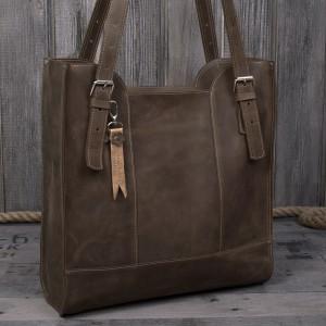 Ręcznie robiona skórzana torebka jasny brąz, skórzana torebka,