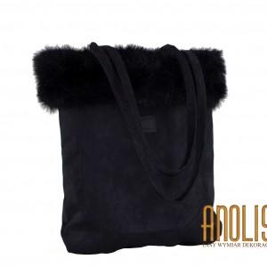Czarna torba na ramię