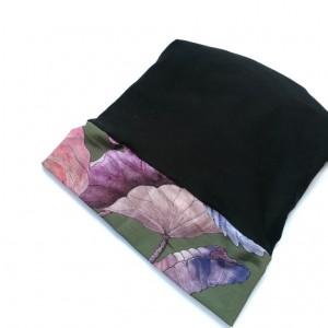 czapka damska czarna uniwersalna codzienna- box 44- na podszewce, rozmiar uniwersalny, polecam