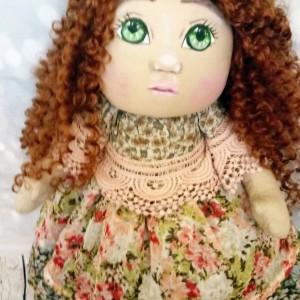 Duża lalka rękodzielnicza