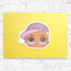 mały obraz do sypialni, wakacje obraz malowany ręcznie, nowoczesna grafika do pokoju, dziewczyna akwarela, rysunek z kobietą