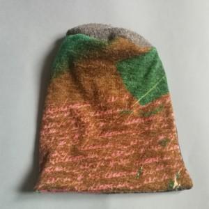 czapka damska kolorowa jesienna