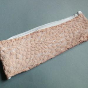 opaska damska koronkowa pastelowa- box 44- obwód uniwersalny, szerokość 9cm, idealna na czoło, pojedynczy egzemplarz, polecam