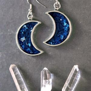 Kolczyki Luna