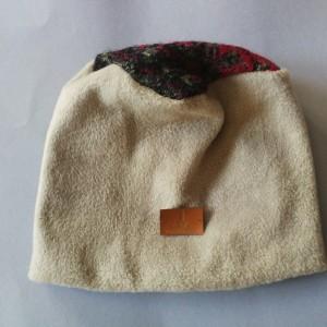 czapka damska ciepła zimowa zielen/beż- box 44- na podszewce, ciepła, rozmiar uniwersalny, polecam