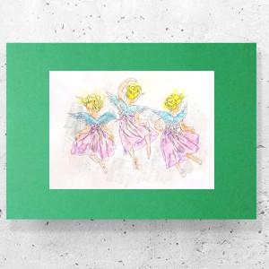 skandynawski plakat na ścianę, ładna grafika do salonu, nowoczesny obraz z dziewczyną, minimalizm grafika do domu