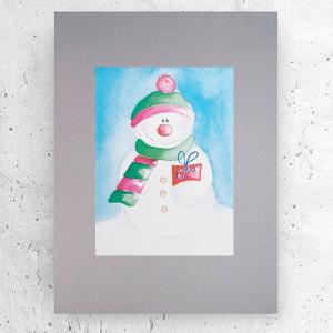 biało-czarny plakat z Hinduską, biało-czarna-grafika z dziewczyną, obrazek z Hinduską, minimalizm plakat na ścianę