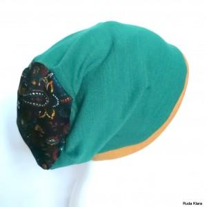 czapka kolorowa damska dzianinowa sportowa codzienna