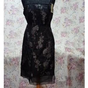 Sukienka z czarnej organzy