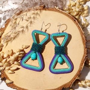 Infinity - Kolczyki sutasz trójkąty