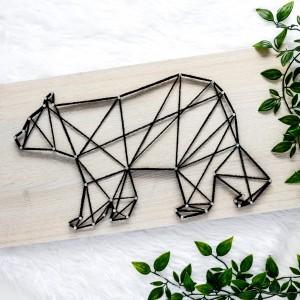 Skandynawski niedźwiedź geometryczny, Miś