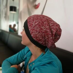 czapka unisex uniwersalna codzienna handmade