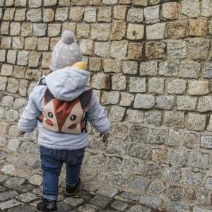 Mini plecaczek dziecięcy lisek