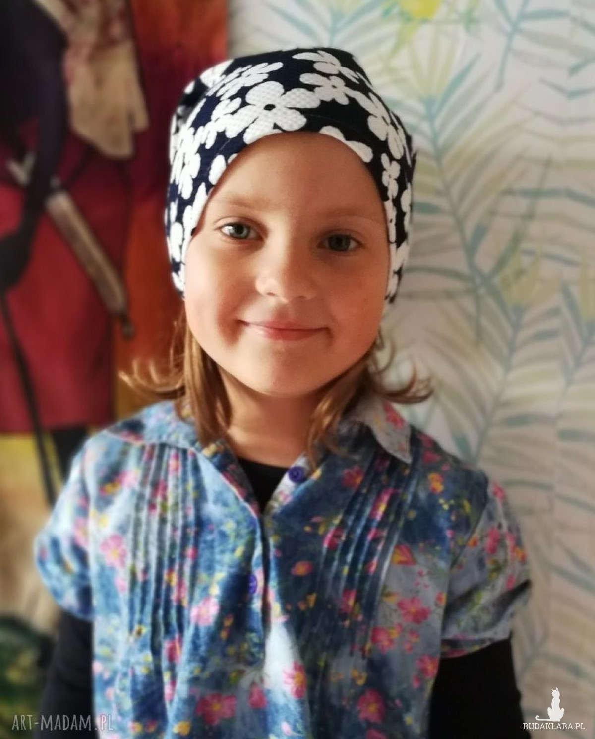 czapka dziecięca sportowa wiosenna