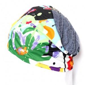 czapka damska kolorowa