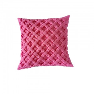 Poduszka ozdobna Canadian Origami jasny róż