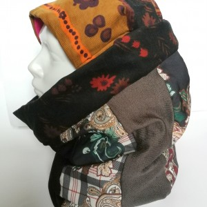 czapka damska i komin komplet na jesień i zimę