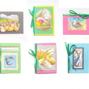 kartki na Wielkanoc, kartki wielkanocne, kolorowe kartki na święta wielkanocne