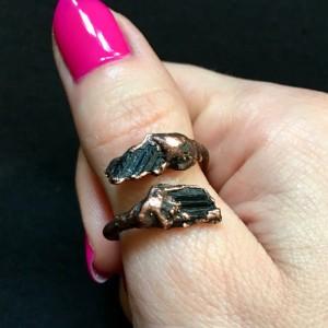 pierścionek turmalin ochrona