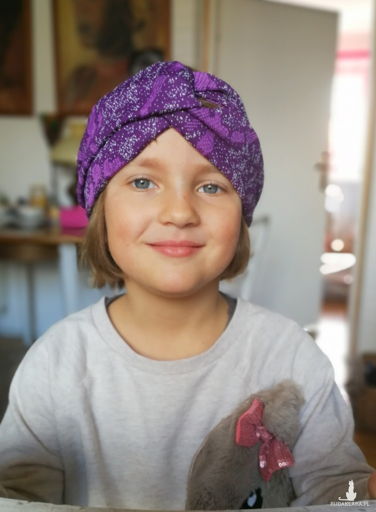 opaska turbanowa dla dziewczynki