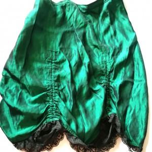 spódnica retro z koronka marszczona rozmiar L