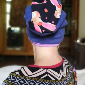 czapka damska wiosenna energetyczna w stylu boho