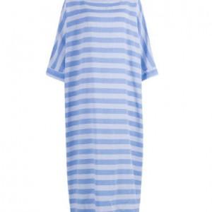 sukienka oversize w paski