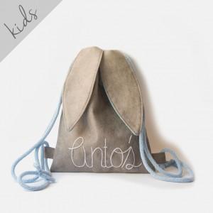 Mini plecak królik z imieniem Antoś
