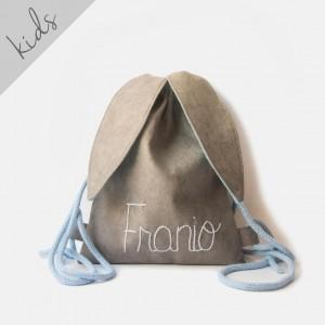 Mini plecak królik z imieniem Franio