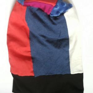 czapka damska wiosenna szyta patchworkowy