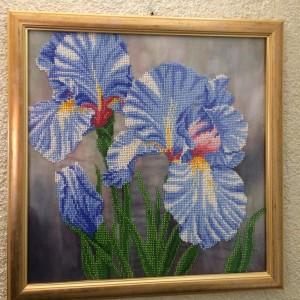 Obraz haftowany koralikami