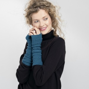 Mitenki - miękkie i ciepłe rękawiczki bez palców- czysta wełna merino