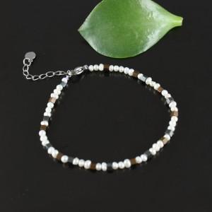 Bransoletka minimalistyczna z pereł II