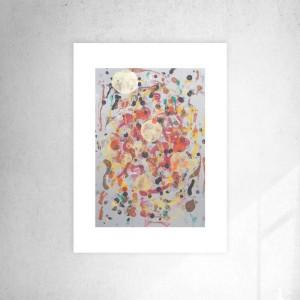 minimalizm grafika na ścianę, ładna abstrakcja do salonu, dekoracja do loftu