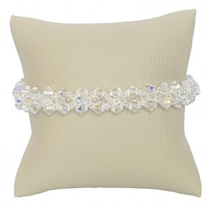 Bransoletka Andromède Swarovski Elements® kolor crystal AB srebro 925