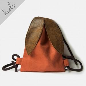 Mini plecak rudy króliczek