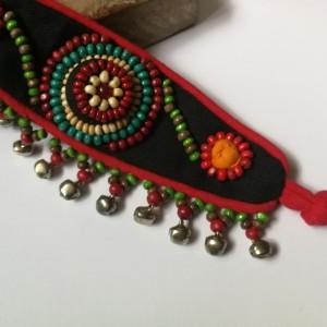 bransoletka handmade z materiału