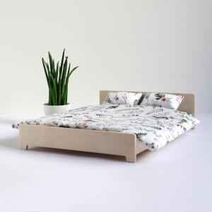 Łóżko podwójne dla lalek