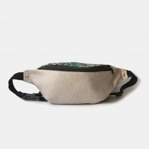 Nerka XL torebka biodrowa w jodełkę