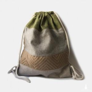 Plecak worek w paski