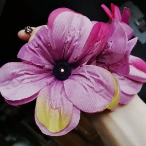 Klipsy etno boho kwiaty folk, box x1, polecam