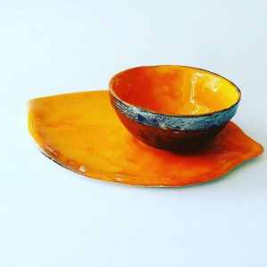 Zestaw liść mandaryn