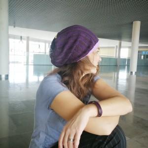 czapka damska smerfetka