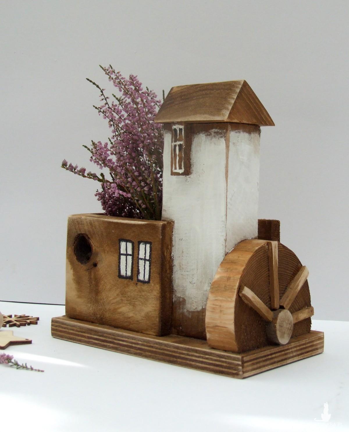 ORGANIZER, PRZYBORNIK - Drewniany Młyn