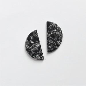 sztyfty czarne półkola